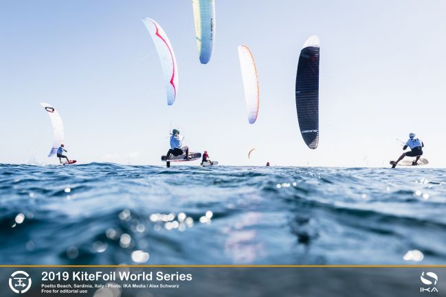 Title favourite out in drama-filled day at KiteFoil final in Sardinia
